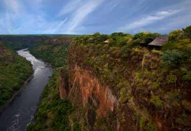 Gorges Lodge Victoria Falls, Sambesi Schlucht