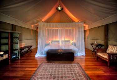 Kanana Camp, Gästezelt