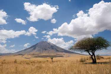 Ol Doinyo Lengai, der heilige Berg der Massai  © Foto: Ulrich Doering | Moivaro