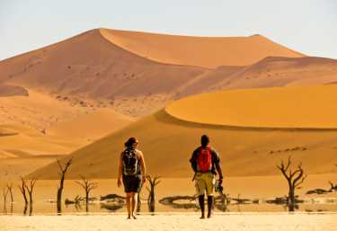 Am Dead Vlei, Namibia  © Foto: Christian Hertel | Sunway Safaris