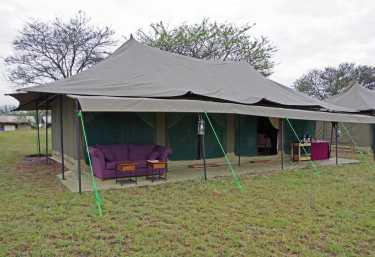 Nasikia Kaskaz Mara Camp, Hauptbereich  © Foto: Judith Nasse | Outback Africa