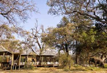 Xaranna Camp, Loungebereich