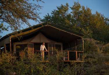 Sanctuary Kusini Camp, Zeltchalet  © Foto: Sanctuary Retreats