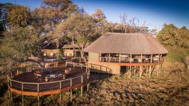 Mma Dinare Camp  © Foto: Under one Botswana Sky