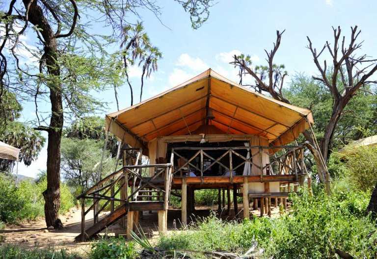 Goede Elephant Bedroom Camp - Samburu Game Reserve   Kenia Reisen VO-72